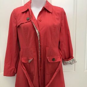 Women's STYLE & CO Coral Trench Jacket XL